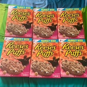 Travis Scott Reeses Puffs Family Size 5 Pack